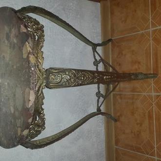 бронзова консоль столик
