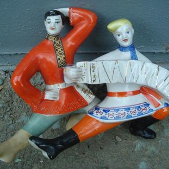Гармоніст і  танцюрист