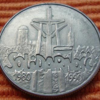 Польша 100 00 злотых - 1990 = юбилейная
