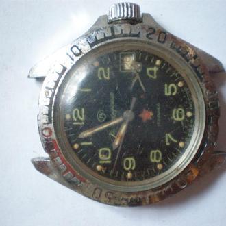 часы Восток Командирские СССР рабочий баланс 13092