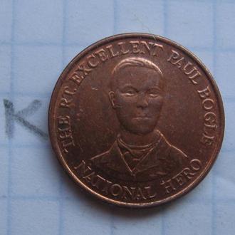 ЯМАЙКА. 10 центов 1995 г.