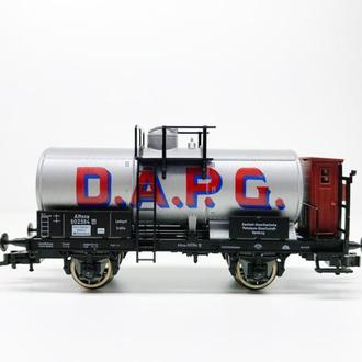 Прусская (немецкая) цистерна DAPG для ж.д. PIKO