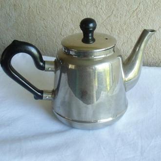 Чайник заварник на самовар Кольчугино Фазан СССР
