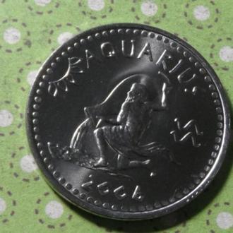Сомалиленд 2006 год монета 10 шиллингов водолей знаки зодиака !