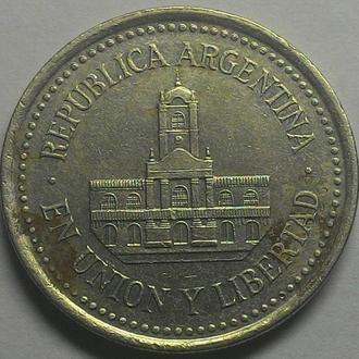 Аргентина 25 центаво 1994 год