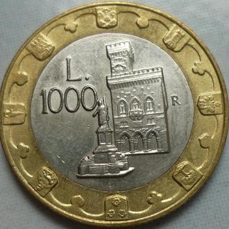 Сан-Марино 1000 лир 1997