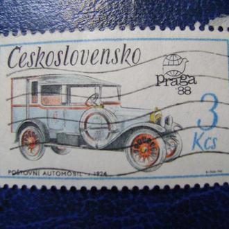Чехословакия. Почтовый фургон, 1924