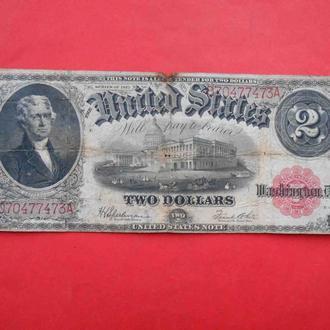США 1917 Два доллара $2.00