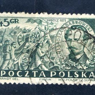 Польша. Ярослав Домбровский (серия) 1951 г.