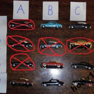 Автомобили Buick фирмы Praline M 1:87 H0