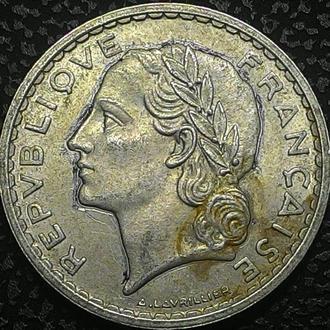 Франция 5 франков 1949 год