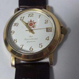 муж. часы наградные от Президента Л.Кучмы