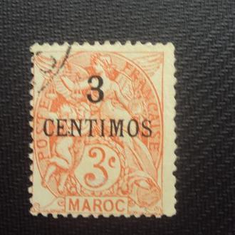 Марокко 1914г.гаш. Колонии Франции.