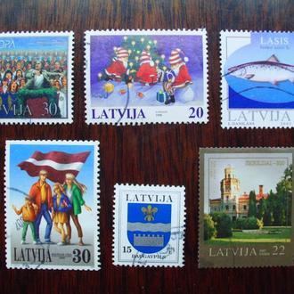 Латвия.1998/2007гг. Подборка с полными сериями.