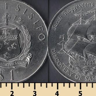 Самоа 1 тала 1972