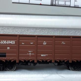4-х осный полувагон R-LAND 20602/ Железная дорога Piko,Roco H0 (1:87)  (