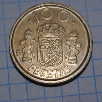 100 песет 1992 г Испания