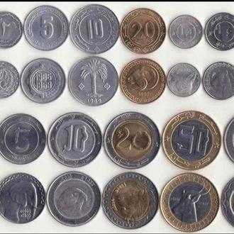 Набор монет Алжира UNC