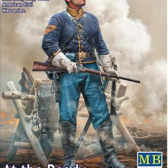 Master Box 35197 Ротный сержант-квартирмейстер союзной кавалерии бригадного генерала Баффорда, 1/35