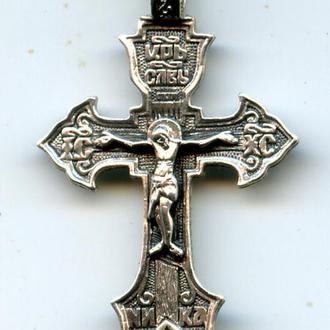 Крестик Серебро 2,6гр 925пр