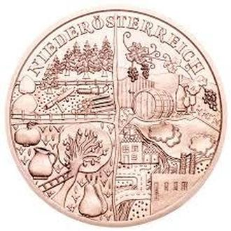10 Евро 2013 Нижняя Австрия,(15) Австрия