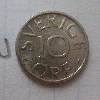 ШВЕЦИЯ, 10 эре 1989 г.