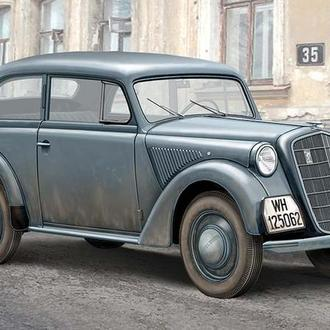 АСЕ 72506 1937 Opel Olympia Stabswagen (Staff Car) Sedan, 1/72