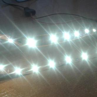 Светодиодная лента 30cмна 18 светодиодов(для моделей Piko,Roco)