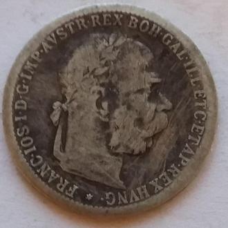 1 крона 1897 г Авсстро - Венгрия для Австрии
