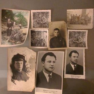 Набор военных фотографий