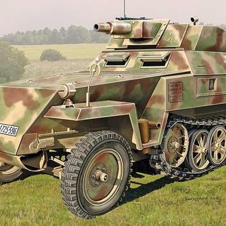АСЕ 72514 SdKfz.250/8 Stummel, 1/72