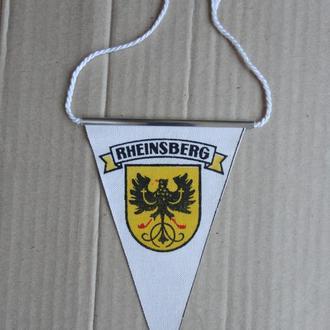 Вымпел, вимпел, Рейнсберг, Rheinsberg, герб, Німеччина, НДР, Германия, ГДР. Стан, сохран. Рідкісний