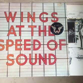 Wings   – Wings At The Speed Of Sound (  USA)  ) LP