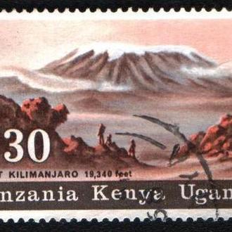 Кения, Уганда и Танзания (1968) Горы Восточной Африки. Вулкан Килиманджаро