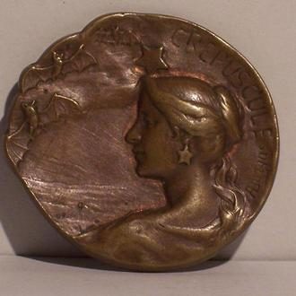 Аврора, аллегория зари, модерн, Франция, 1910-ые