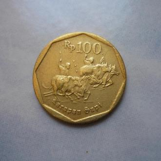 Индонезия 100 рупий 1995
