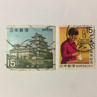 Япония/ Азия/ 1970/ Архитектура/ Здание/ Люди/ Замок/