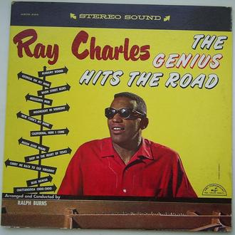 RAY CHARLES  The Genius Hits The Road  LP  VG-/EX