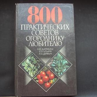 800 советов огороднику-любителю.