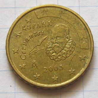 Испания_ 10 евро центов 2003 года  оригинал