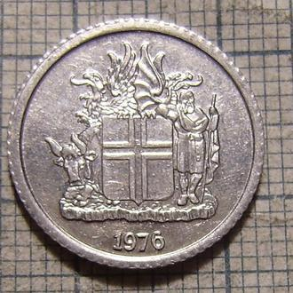 Исландия, 1 крона 1976
