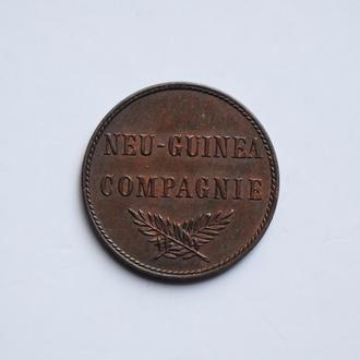 Германская Новая Гвинея 1 пфенниг 1894 г., UNC, 'Колония Германии (1885 - 1915)'