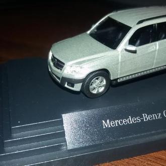 Масштабная модель Mercedes-Benz GLK-Class Silver 1:87 B66960324