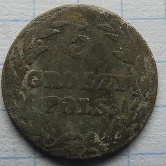 5 грошей 1816  грош groszy №5