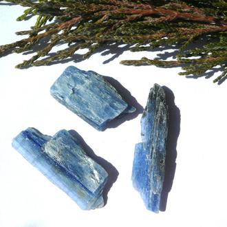 Кианит голубой 12,9 грамм 3 шт