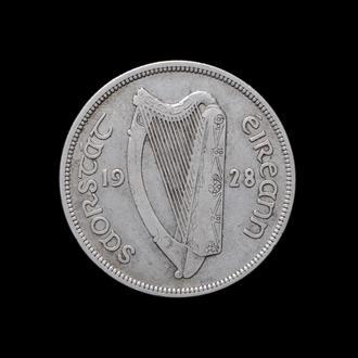 1/2 Кроны 1928,(18) Ирландия