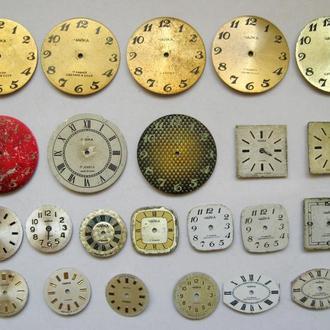 Циферблат к часам ЧАЙКА = СССР = 23 шт.