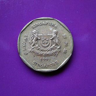 СИНГАПУР 1 доллар 1997 года