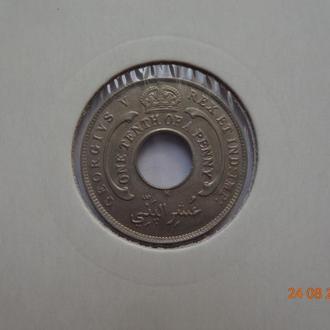 Британская Западная Африка 1/10 пенни 1913H George V СУПЕР состояние очень редкая (малый тираж)