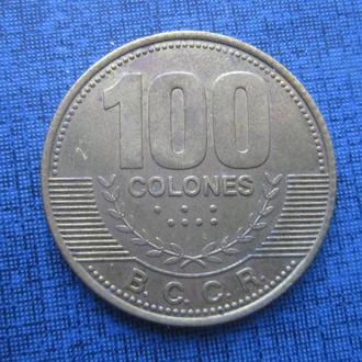 монета 100 колон Коста Рика 2007